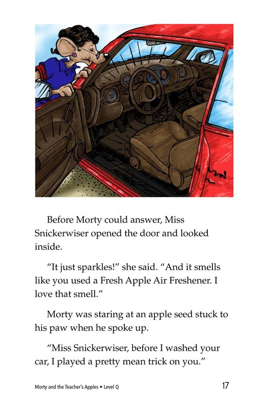 Book Preview For Morty and the Teacher's Apples Page 17