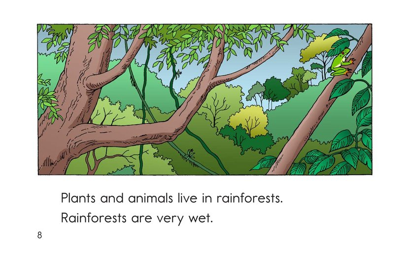 Book Preview For Places Plants and Animals Live Page 8