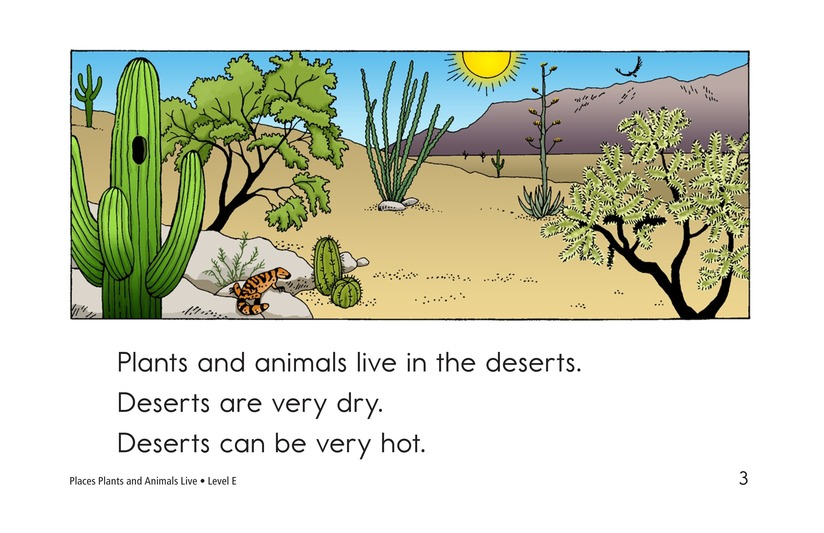 Book Preview For Places Plants and Animals Live Page 3