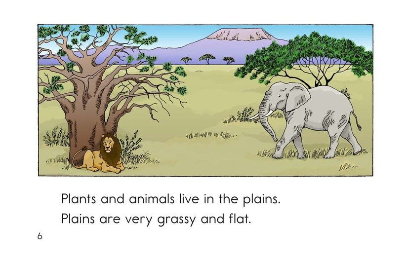Book Preview For Places Plants and Animals Live Page 6