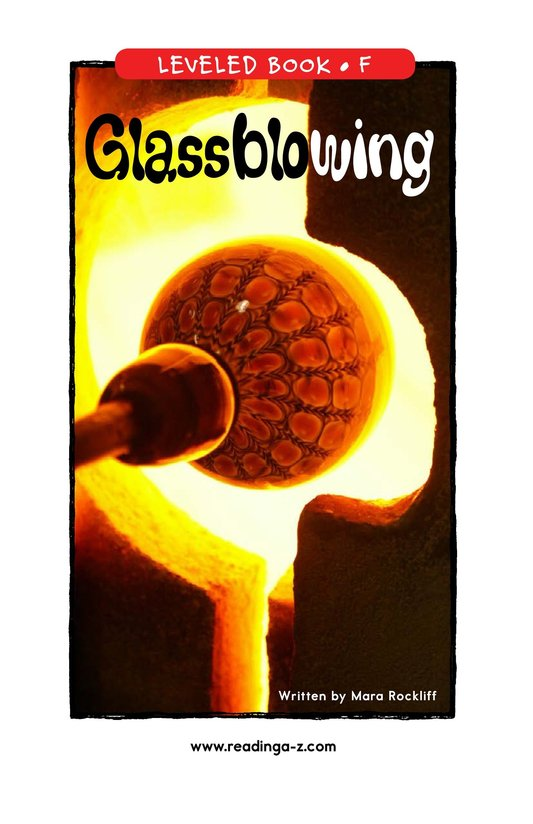 Book Preview For Glassblowing Page 1