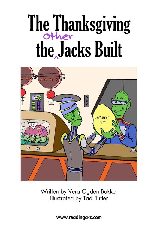 Book Preview For The Thanksgiving the Other Jacks Built Page 2
