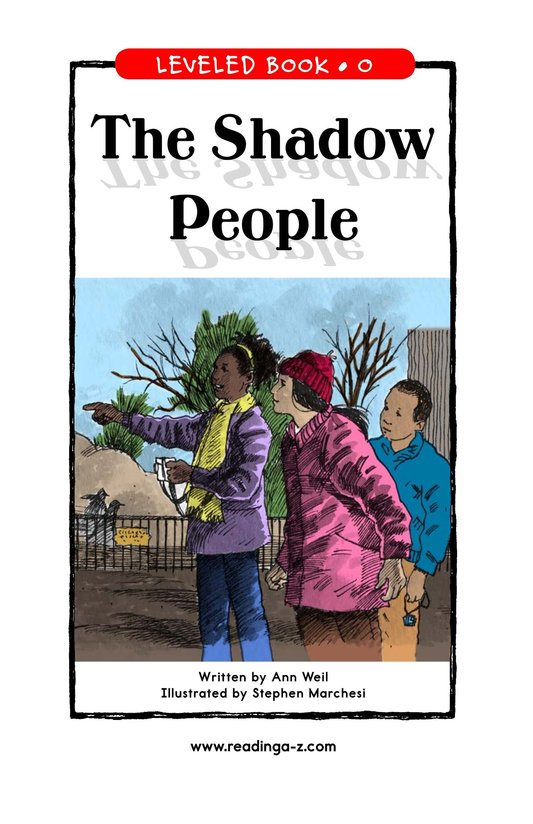 Book Preview For The Shadow People Page 1