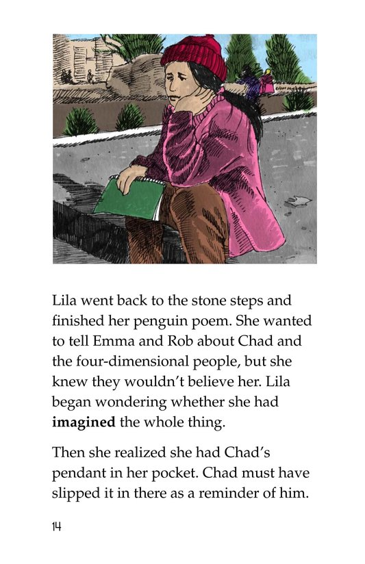 Book Preview For The Shadow People Page 14