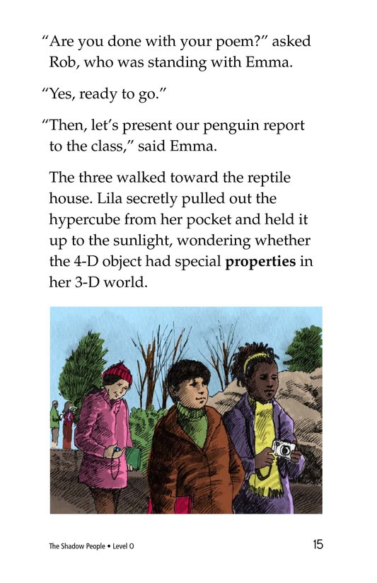 Book Preview For The Shadow People Page 15