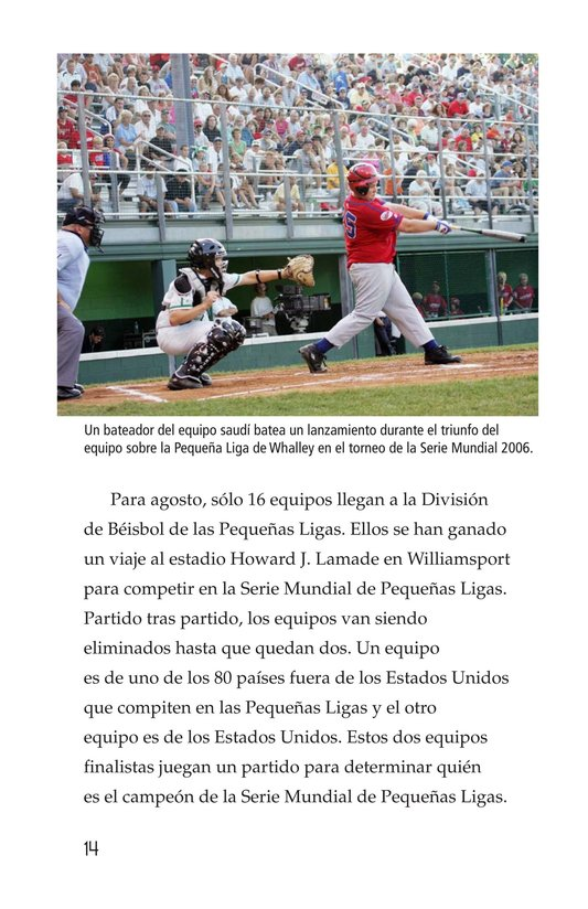 Book Preview For A Big League for Little Players Page 14