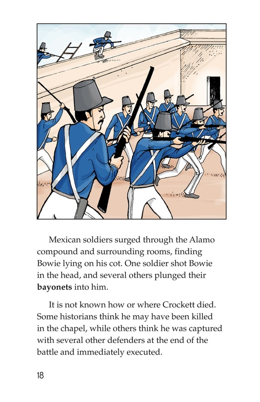 Book Preview For The Battle of the Alamo Page 18