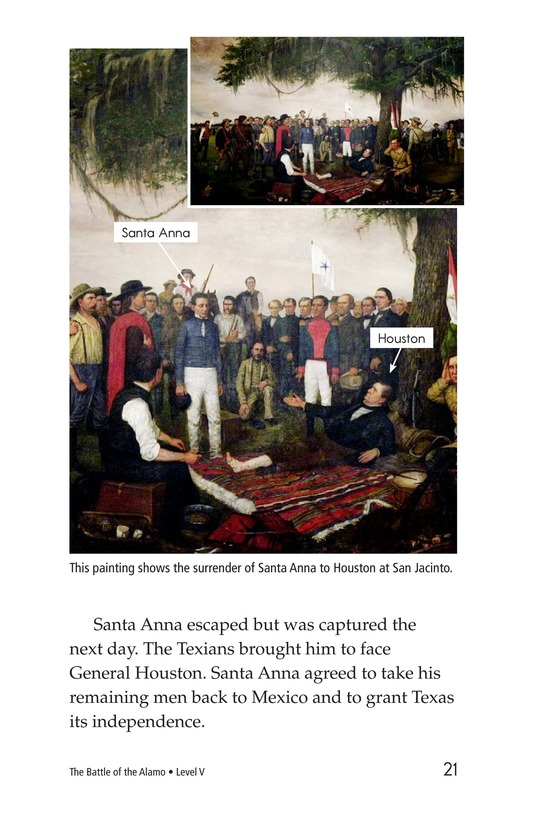 Book Preview For The Battle of the Alamo Page 21