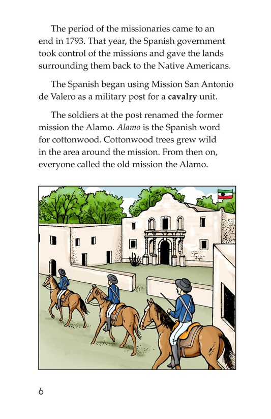 Book Preview For The Battle of the Alamo Page 6