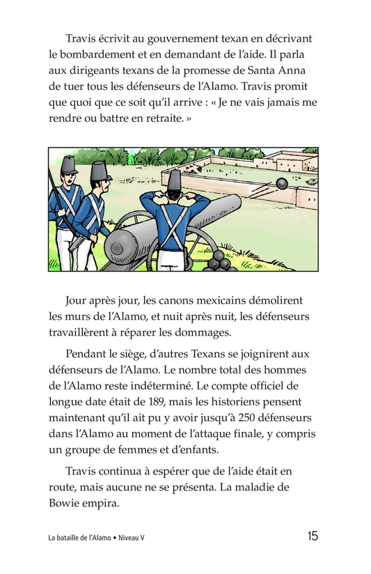 Book Preview For The Battle of the Alamo Page 15