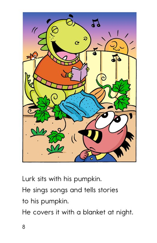 Book Preview For The Monster Pumpkins Page 8