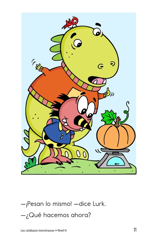 Book Preview For The Monster Pumpkins Page 11