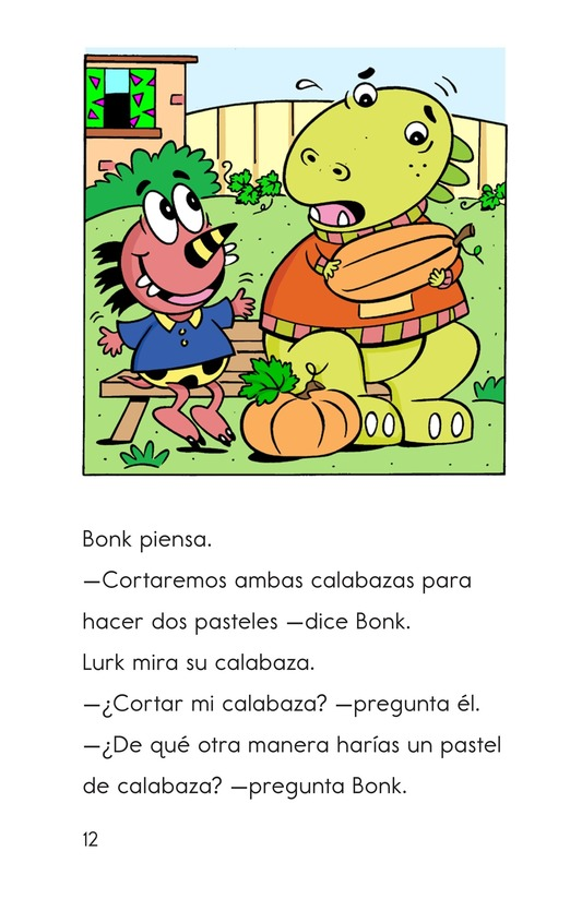 Book Preview For The Monster Pumpkins Page 12