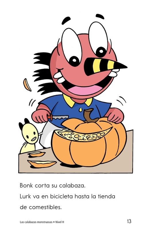 Book Preview For The Monster Pumpkins Page 13