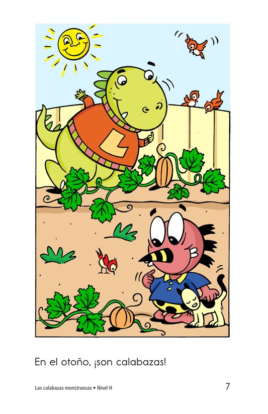 Book Preview For The Monster Pumpkins Page 7