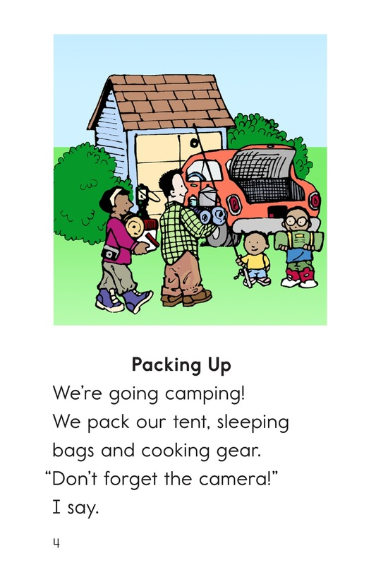 Book Preview For Our Camping Trip Page 4