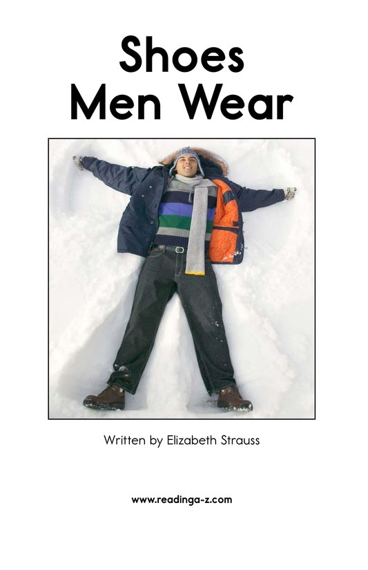 Book Preview For Shoes Men Wear Page 2