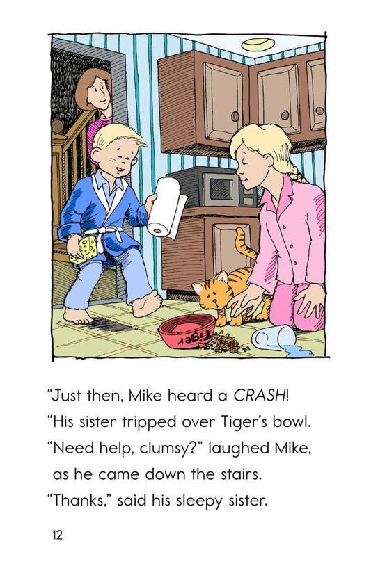 Book Preview For Mike's Good Bad Day Page 12