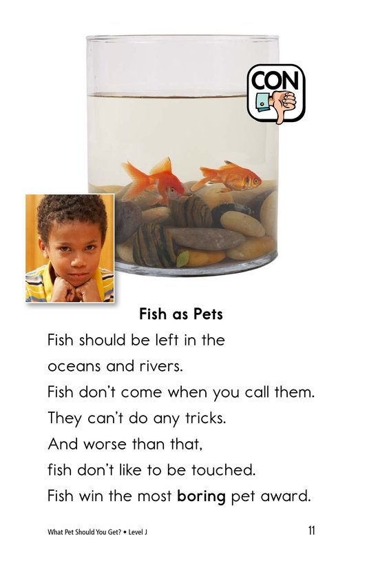 Book Preview For What Pet Should You Get? Page 11