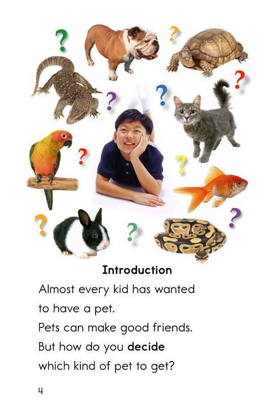 Book Preview For What Pet Should You Get? Page 4