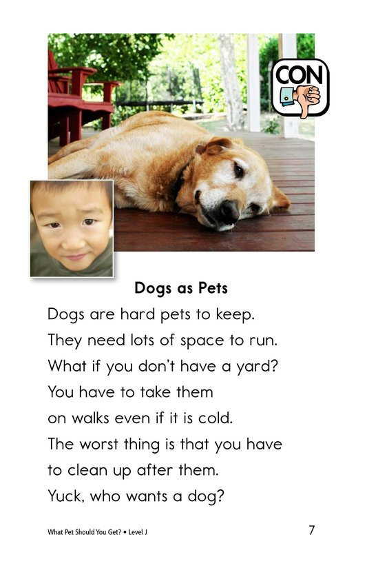 Book Preview For What Pet Should You Get? Page 7