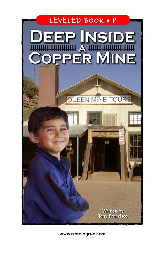 Book Preview For Deep Inside a Copper Mine Page 1