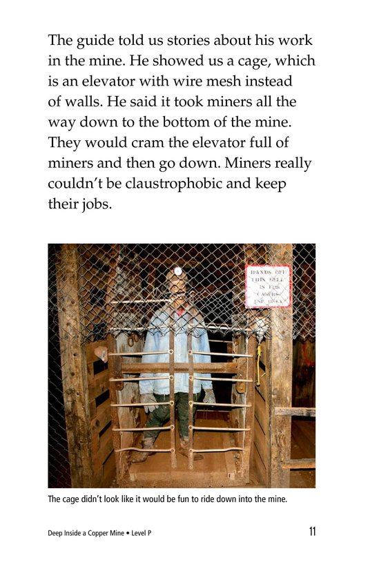 Book Preview For Deep Inside a Copper Mine Page 11
