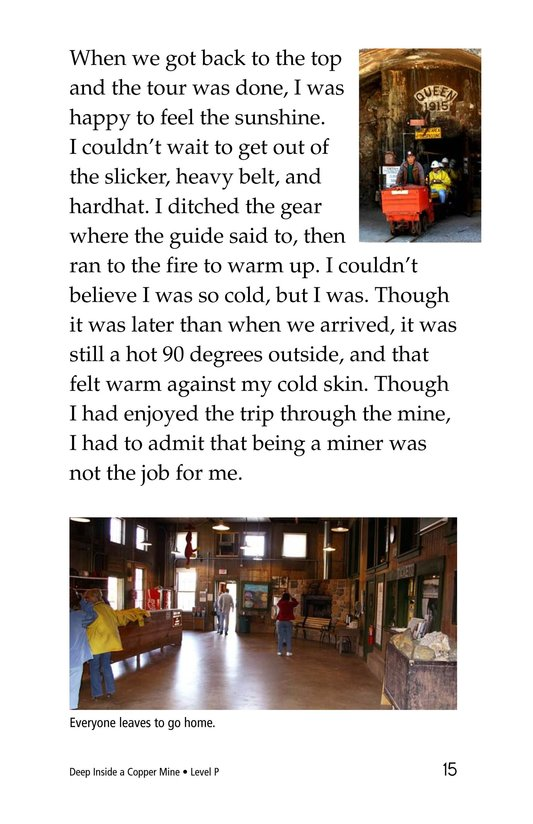 Book Preview For Deep Inside a Copper Mine Page 15