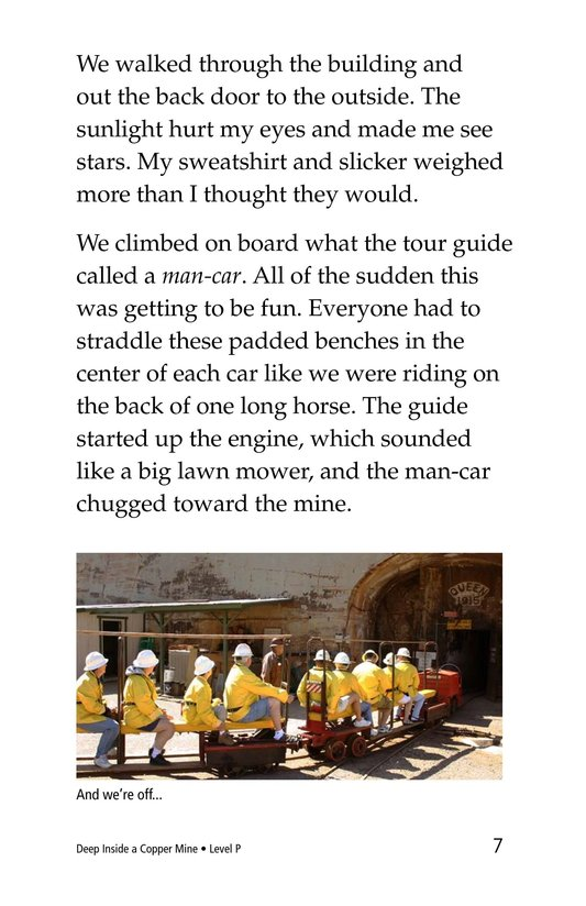 Book Preview For Deep Inside a Copper Mine Page 7