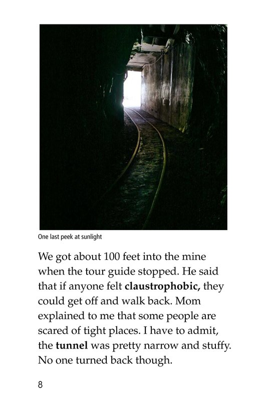 Book Preview For Deep Inside a Copper Mine Page 8