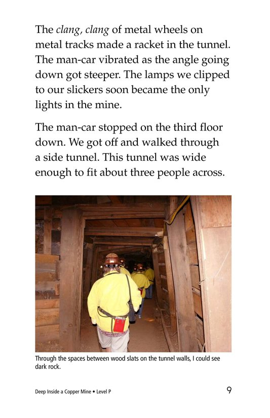 Book Preview For Deep Inside a Copper Mine Page 9