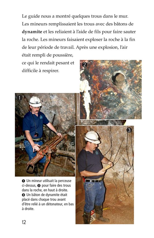 Book Preview For Deep Inside a Copper Mine Page 12