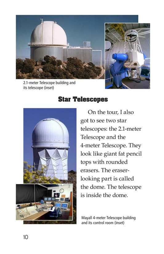 Book Preview For A Visit to Kitt Peak Page 10