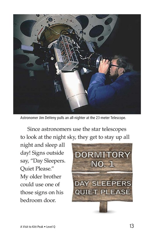 Book Preview For A Visit to Kitt Peak Page 13