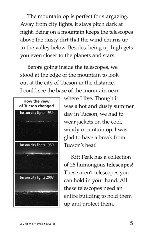 Book Preview For A Visit to Kitt Peak Page 5