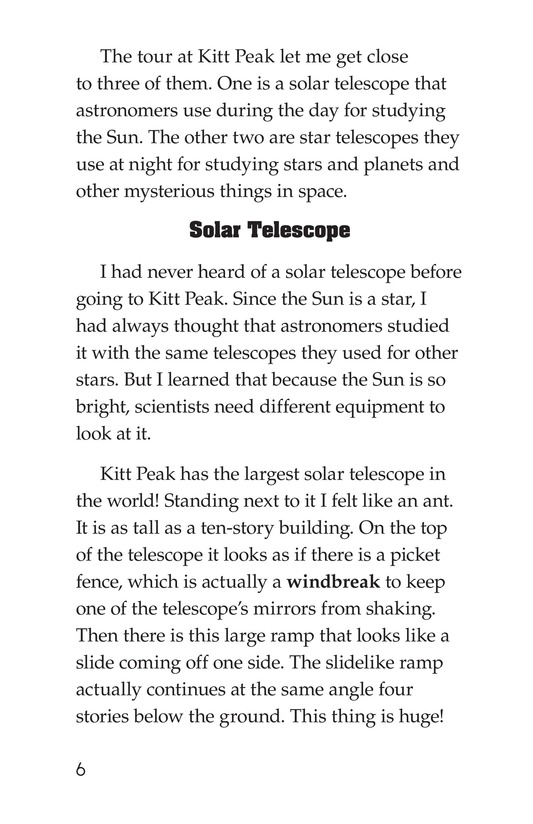Book Preview For A Visit to Kitt Peak Page 6