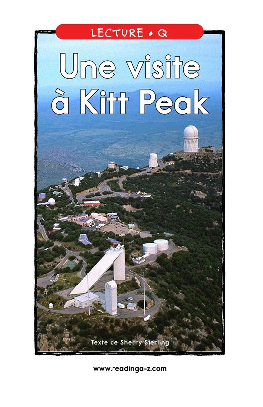 Book Preview For A Visit to Kitt Peak Page 1