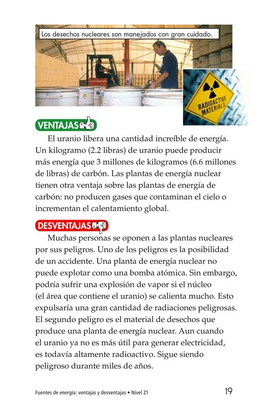 Book Preview For Energy Sources: The Pros and Cons Page 19