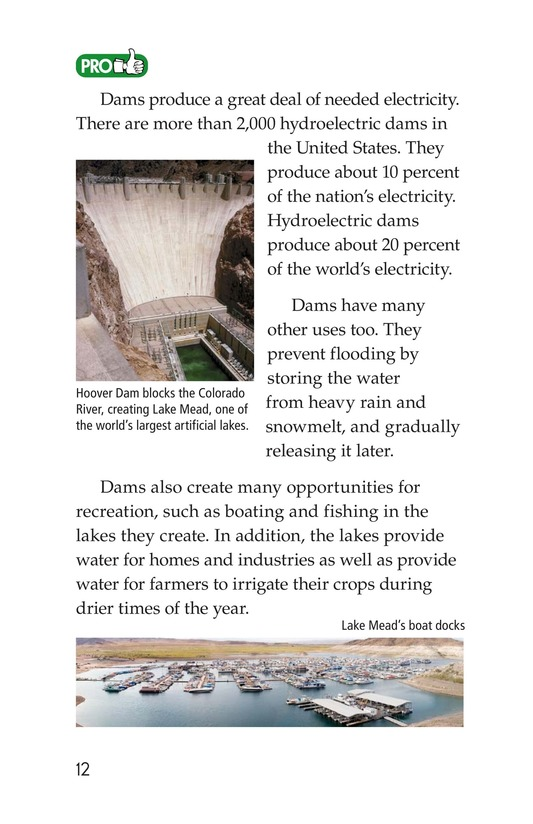 Book Preview For Energy Sources: The Pros and Cons Page 12