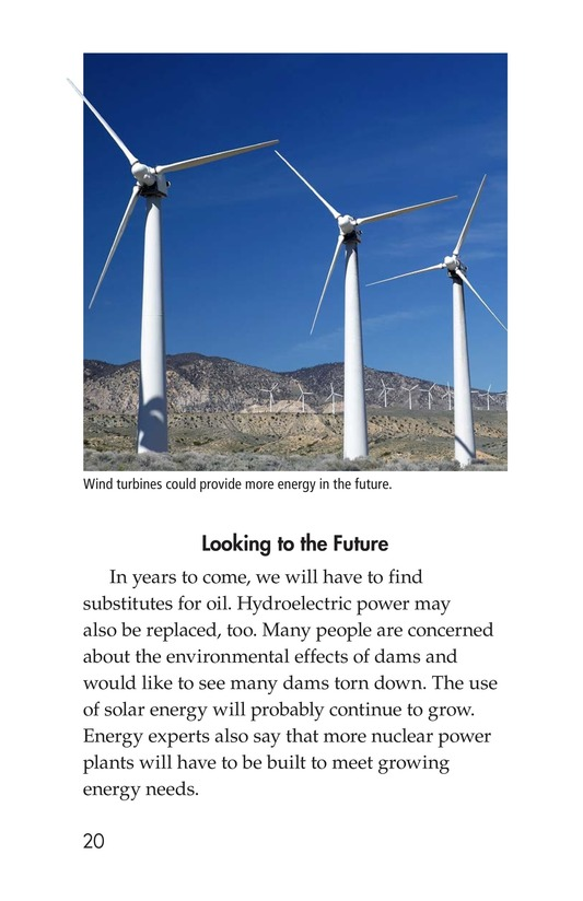 Book Preview For Energy Sources: The Pros and Cons Page 20