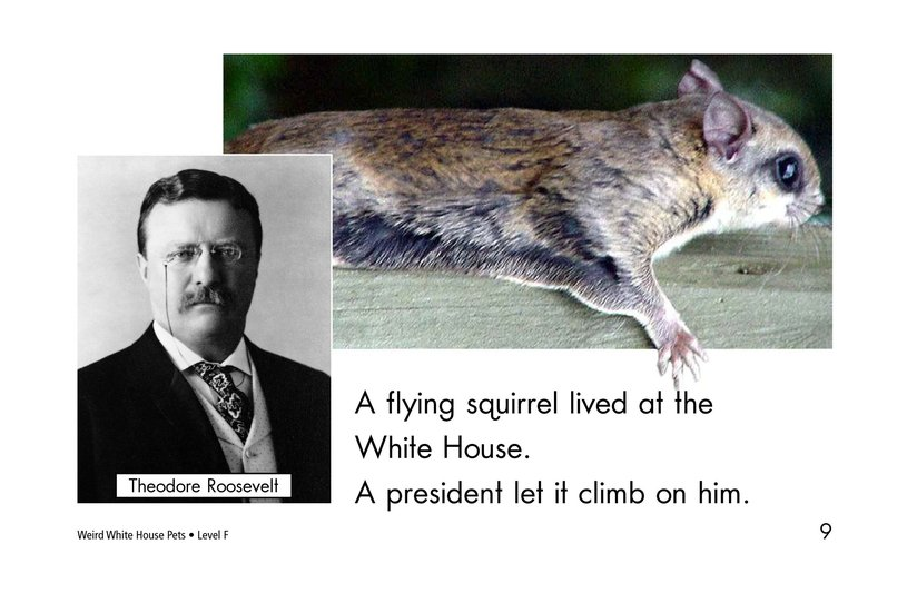 Book Preview For Weird White House Pets Page 9