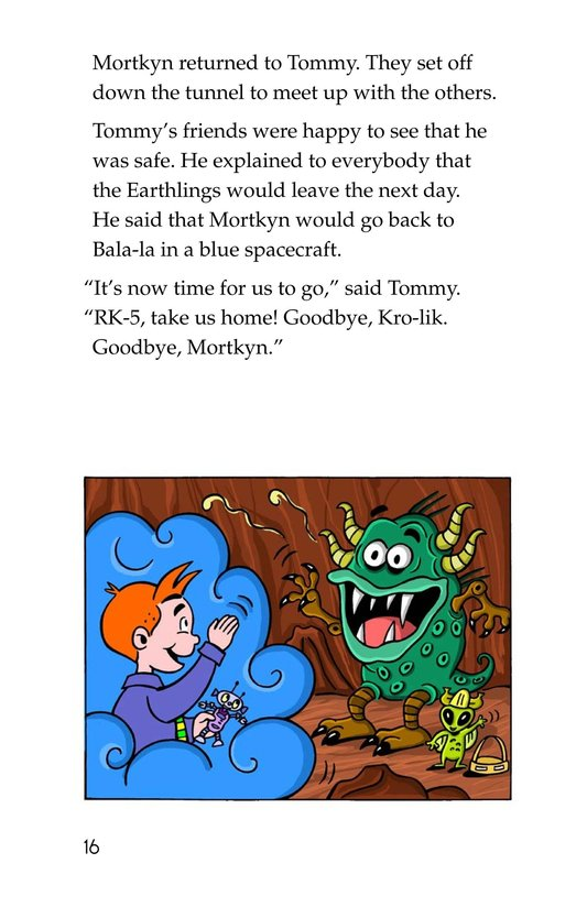 Book Preview For Tommy Goes to Mars (Part 2) Page 16