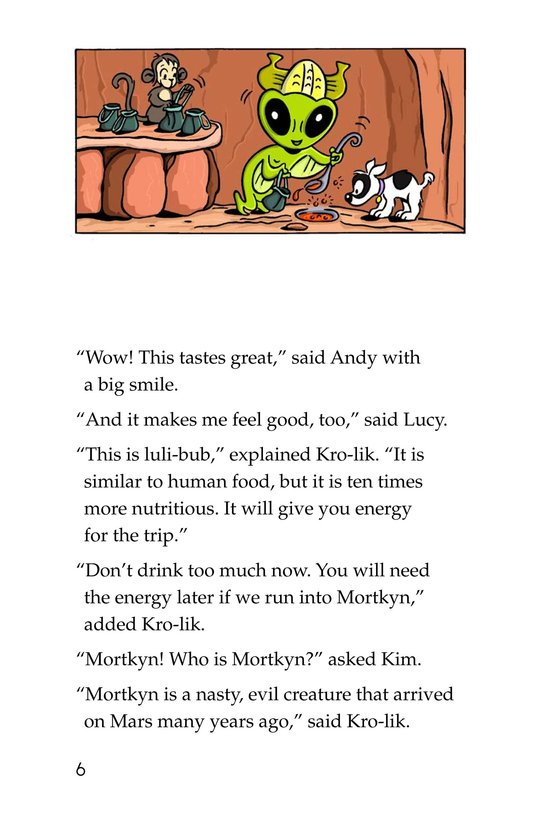 Book Preview For Tommy Goes to Mars (Part 2) Page 6