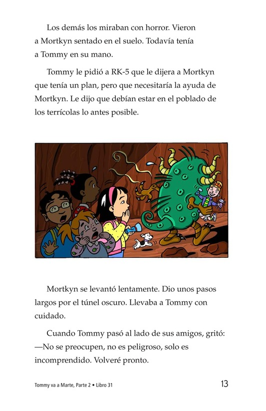 Book Preview For Tommy Goes to Mars (Part 2) Page 13