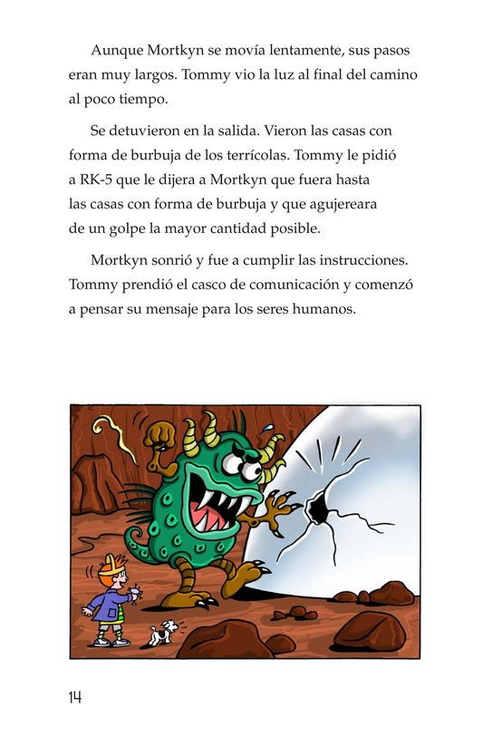 Book Preview For Tommy Goes to Mars (Part 2) Page 14