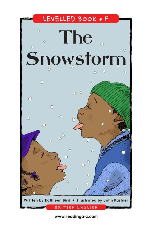 Book Preview For The Snowstorm Page 1
