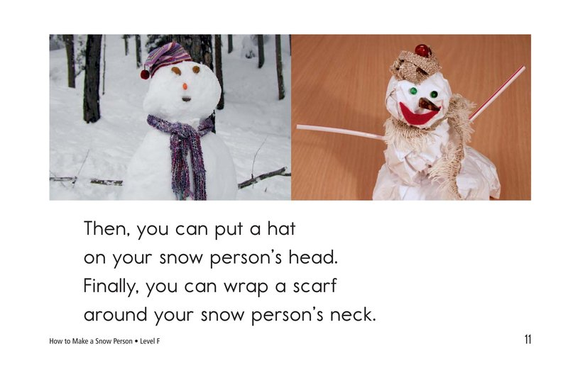 Book Preview For How to Make a Snow Person Page 11