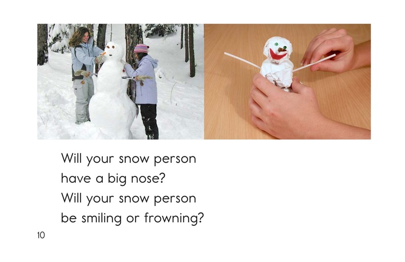Book Preview For How to Make a Snow Person Page 10