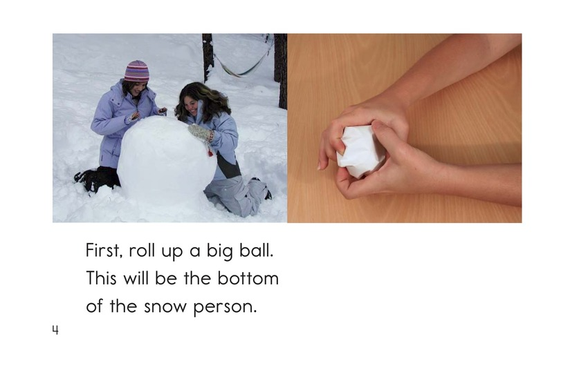 Book Preview For How to Make a Snow Person Page 4