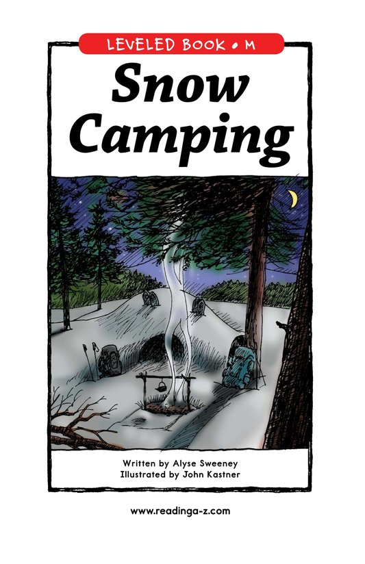 Book Preview For Snow Camping Page 1
